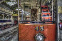 Crich Tramway Village 7 (Darwinsgift) Tags: crich tramway village matlock derbyshire national tram museum hdr photomatix voigtlander 20mm f35 color skopar nikon d810 tourism england uk