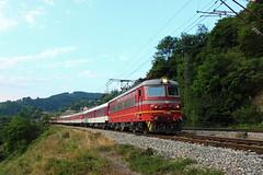 44 197, R 2601 ( - ) (geobg) Tags: bdz train locomotive bulgaria railway iskar transport