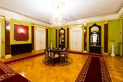 Salon (Raoul Pop) Tags: interior historic doors salon objects room architecture table crownmolding mirrors parquet pedestals iasi moldova romania ro