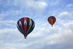 Balloon Flight (Alan Amati) Tags: amati alanamati america usa us newmexico nm albuqerque ballon fiesta fest international albuquerqueballoonfiesta albuquerqueinternationalballoonfiesta flight southwest balloons clouds
