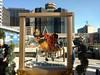 Saints fan monument (skooksie) Tags: saints sports monument louisianasuperdome superdome alhirt