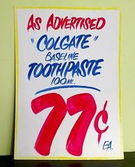 A Bit of Honest Ed's (Georgie_grrl) Tags: honesteds sign souvenir handpainted toothpaste asadvertised abitoftorontohistory willbesadtoseeitgo closingendof2016 toronto explore