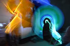 Glow stick fun (Calla Chaiyaruk) Tags: glow sticks light