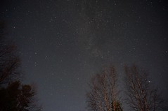 Such a clear sky is breathtaking. (benbohm) Tags: norway clear star sky milkyway