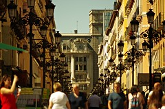 Calle Alfonso-Zaragoza (portalealba) Tags: zaragoza aragon espaa spain street calle portalealba pentax pentaxk50