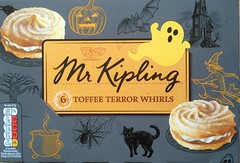 Mr Kipling - Toffee Terror Whirls - Halloween 2016 (firehouse.ie) Tags: witches pumpkins ghosts front cover cream creme shortcake pastries pastry vienesse box allsoulsday halloween samhain samhan trickortreat tasty premierfoods exceedinglygood uk good exceedingly exceedinglygoodcakes toffeeterrorwhirls toffee whirls buns confectionary confectionery cakes mr mister kiplings kipling mrkipling