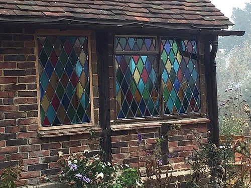 26 10 2016 new windows installed - coloured glass this time round