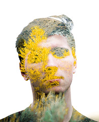 47/365 (lukerenoe) Tags: doubleexposure yellow leaves tree trees autumn portrait portraiture colors fall forest water mood model 365 lukerenoe green blue adventure edit explore red montana mountain