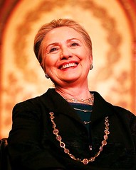 """Holy Hillary """"Mother of Saddam"""" / Never Mooned the Pope??? (ramalama_22) Tags: hillary rodham clinton 2016 future pope mother saddam smile necklace halo holy praise tribute saint martyr presidential election recount millenium moonlight midnight mass mooner dan rather fake news false accurate enclosed space assets peters square"""