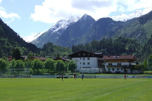Football field, 31.05.2009.