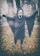 spooky (DJHuber) Tags: elijah marcus ghost ninja kids halloween 2016 costumes spooky