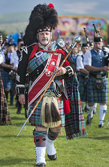 Pipe Major (Geoff France) Tags: highlands scottishhighlands games highlandgames pipers pipebands massedpipebands abernethy grantownonspey cairngorms cairngormsnationalpark outdoor marching bagpipes drums
