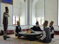 Konya - Mevlana Turbesi, museum, dining room reconstruction (6) (damiandude) Tags: rumi dervish sufi