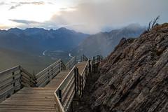 20160904-Banff&Jasper_(Uwais_Razack)-8171 (uwaisrazack) Tags: 2016 alberta banff banffgondola banffnationalpark cablecar canada canadianrockies sunset urp uwaisrazack uwaisrazackphotography