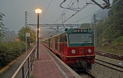 Dawn Light (paul_braybrook) Tags: ribadesella spain gijon dawn railway trains europeanrail