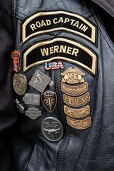 ROAD CAPTAIN WERNER (Werner Schnell Images (2.stream)) Tags: ws werner road captain hog harley owners group nichtmeinekutte harleydavidson