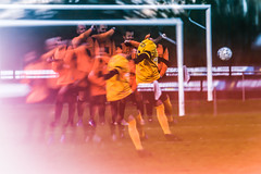 Oeps!  No goal (M. Van Cauteren) Tags: football goal westkapelle