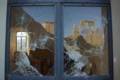 Vandalism (nothinginside) Tags: ortona chieti castle castello window finestra 2016 italia italy abruzzo adriatico adriatic adriaticsea vandalism broken glass reflex pentax