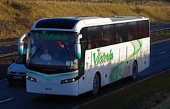 Victoria Coaches of Peterhead Jonckheere NIW565 (andyflyer) Tags: victoriacoaches peterhead jonckheere niw565 a9 blackford coach bus transport