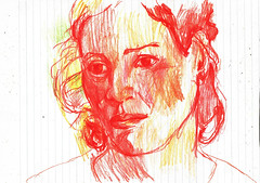 EXPRESIÓN (GARGABLE) Tags: dibujos drawings sketch angelbeltrán apuntes lápicesdecolores experimentación gargable quijote