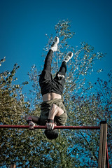 Barz Addict - Barz Battle Jalhay (Vision Factory) Tags: extreme gymnastic male outdoor physique sport streetworkout calisthenics muscle