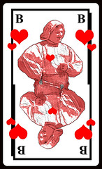 [Herzbube] (menzelhd) Tags: herzbube spielkarte skat rot herz bube spiegelung digiart coeur unter figur