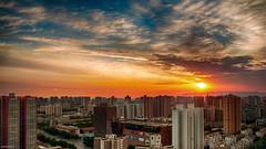 Sunrise (Asif Hasnat Monon) Tags: sunrise rise city architecture roof rooftoppping sunset goldenhour hdr nikon d60 1855 landscape awesome cityscape bestexploredphoto bestphotographers bestphotos bestphotosof2016 bestpic