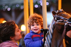 Magic (PakoGONZO) Tags: cesc baby mom luspitina moments smile magic horse carousel tiovivo portaventura nofilter nophotoshop canon canon6d