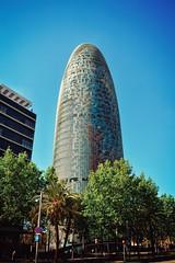Torre Agbar (jonnyminusx) Tags: barcelona spain torreagbar diagonal