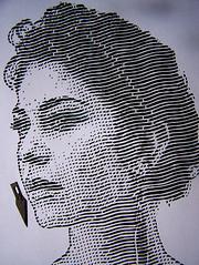 Danielle (Tenazadrine Boy) Tags: danielle ordoez pinto danielleordoez danielleordonez ordonez plantilla stencil papercut papercutting handcut cortado mano emptyboy empty boy