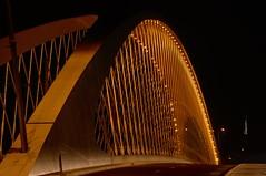 Harp Strings (carradore) Tags: stunningarchitecture architecture bridge creative river prague nightshot czechrepublic arch vltava inspiration bestof troja holeovice trojabridge