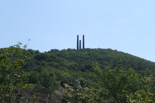 Towers of the Berzelius lead smelter, 13.08.2012.