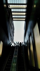 ^ (geka32) Tags: contrast silhouette architecture light lines geometry streetphotography shapes shades shadow narrow up