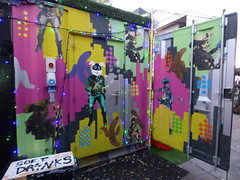 Graffiti street art near Royal Festival Hall - Southbank Centre, London (ell brown) Tags: southbank lambeth londonboroughoflambeth london greaterlondon england unitedkingdom greatbritain southbankcentre royalfestivalhall graffiti streetart softdrinks loneranger