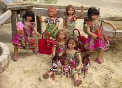 Abenteuerspielplatz ... (Kindergartenkinder) Tags: dolls annette kindra tivi milina setina himstedt annemoni kindergartenkinder leleti rekii sanrike