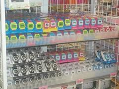 100_4372 (Amane-chan) Tags: food usa shop america japanese store texas candy box dollar pocky bento 100 snacks carrollton bentou yen pretz 100yen erasers daiso ramune carrolton candys iwako usadaiso