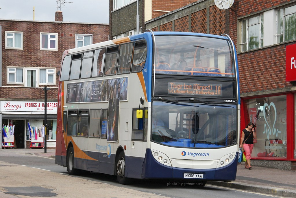 Stagecoach 19002 MX06 XAA (johnmorris13) Tags: bus stagecoach adl  dennistrident 19002 enviro400 mx06xaa