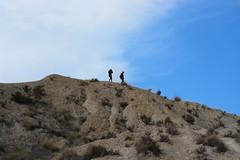 Tabernas Badlands (kwamej) Tags: blue sky mountain clouds desert