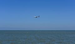 overseas ll (pbo31) Tags: california blue summer color water bay nikon sfo august landing airbus a380 bayarea burlingame lufthansa arriving sanmateocounty sanfranciscointernational 2015 boury pbo31 d810