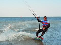 Did I succeed? (claudia.kiel) Tags: sport freestyle action olympus northsea nordsee kitesurfer stpeterording spo weltcup omdem10