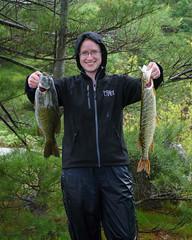 Lydia's Catch (Michael Vermeer) Tags: esoxlucius 111 provincial northernpike massasauga parkthe massasaugaprovincialpark micropterusdolomieu bassthe massasaugabasscampingcanoe trippikesite smallsmallmouth