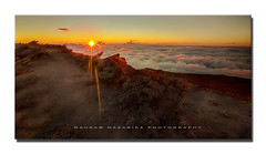 On Cloud Nine (hazarika) Tags: sunset hawaii nationalpark maui haleakalanationalpark canon1635mmf28liiusm canon5dmarkiii mausamhazarikaphotography