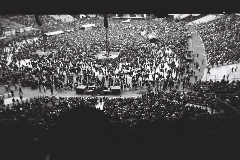 Crowded.