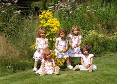 Kindergartenkinder ... (Kindergartenkinder) Tags: dolls schloss annette wasserburg jinka tivi milina anholt himstedt annemoni kindergartenkinder sanrike