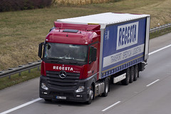 "Mercedes Actros MP4 "" REGESTA "" (PL) (magicv8m) Tags: transport trans lkw tir"