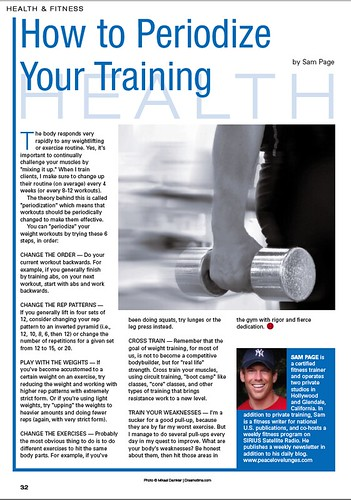 "HORIZON Magazine: How to Periodize Your Training • <a style=""font-size:0.8em;"" href=""http://www.flickr.com/photos/23610545@N03/21487157284/"" target=""_blank"">View on Flickr</a>"