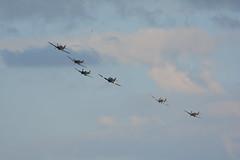 Battle of Britain Memorial Flight (NickS1966) Tags: nikon aviation hurricane flight airshow duxford spitfire tamron raf hawker supermarine 2015 bbmf d7100 150600mm