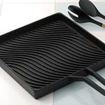 グリルパン、キャセロール、深型鍋、楕円鍋の写真