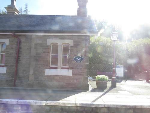 Garsdale Station on the Settle to Carlisle Railway