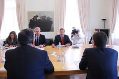 PSD em Audiência com Primeiro-Ministro